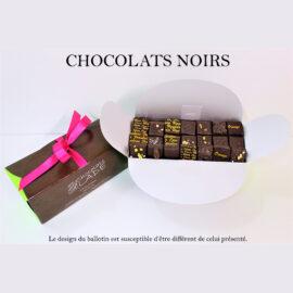 Ballotin 250g – chocolats noirs