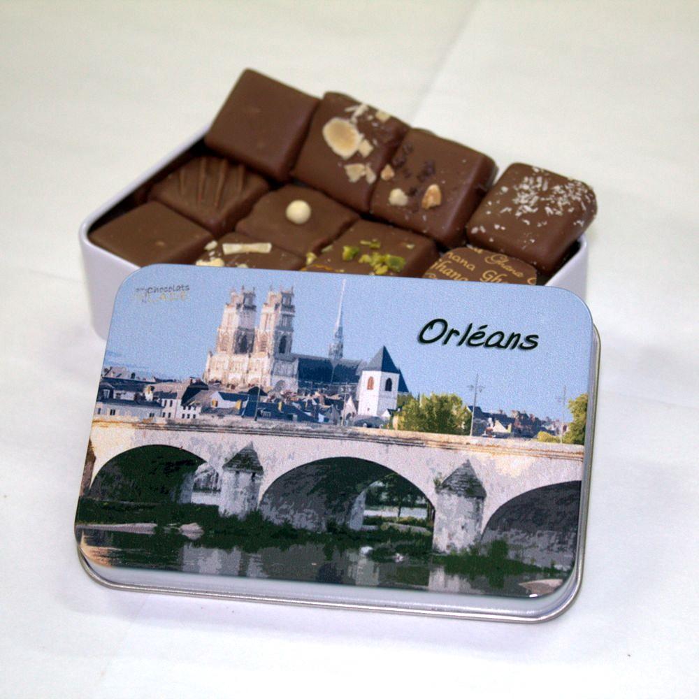 Boîte Orléans – chocolats au lait