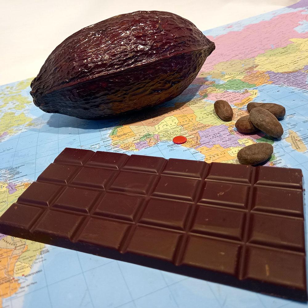 Cameroun 66% – chocolat noir