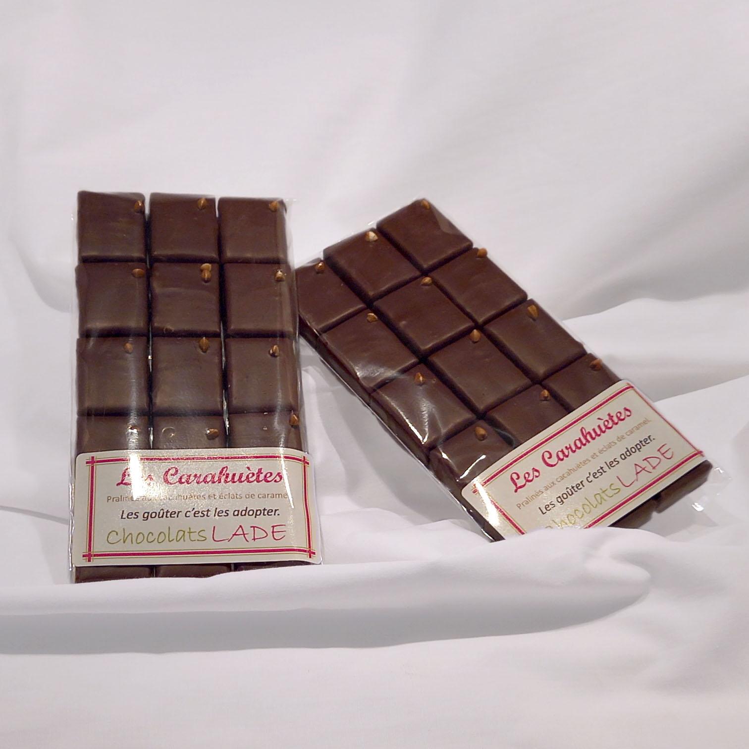 Carahuètes – chocolats au lait
