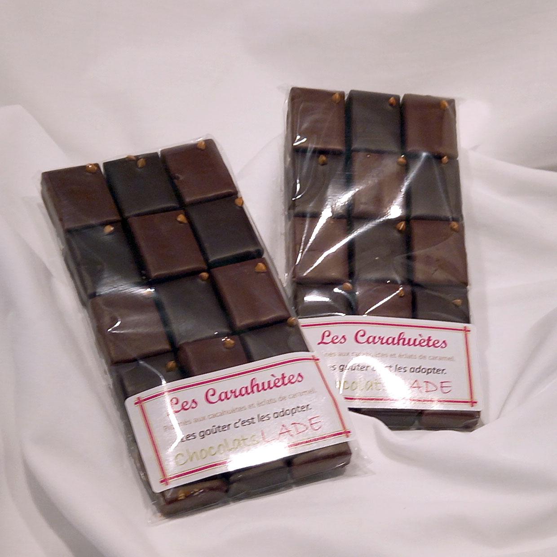 Carahuètes – chocolats panachés