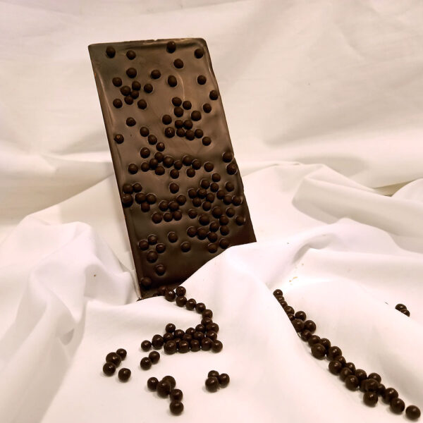 tablette riz soufflé noir