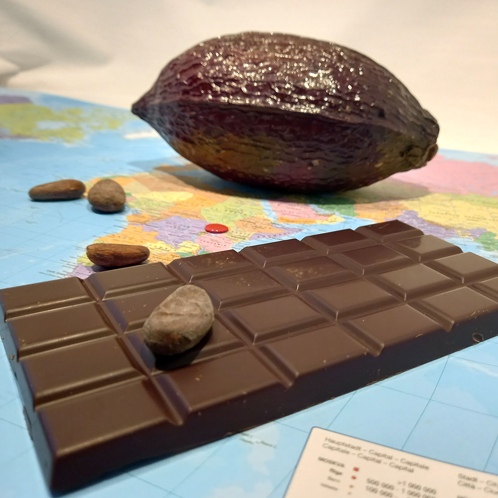 Uganda Noir 80% – chocolat noir
