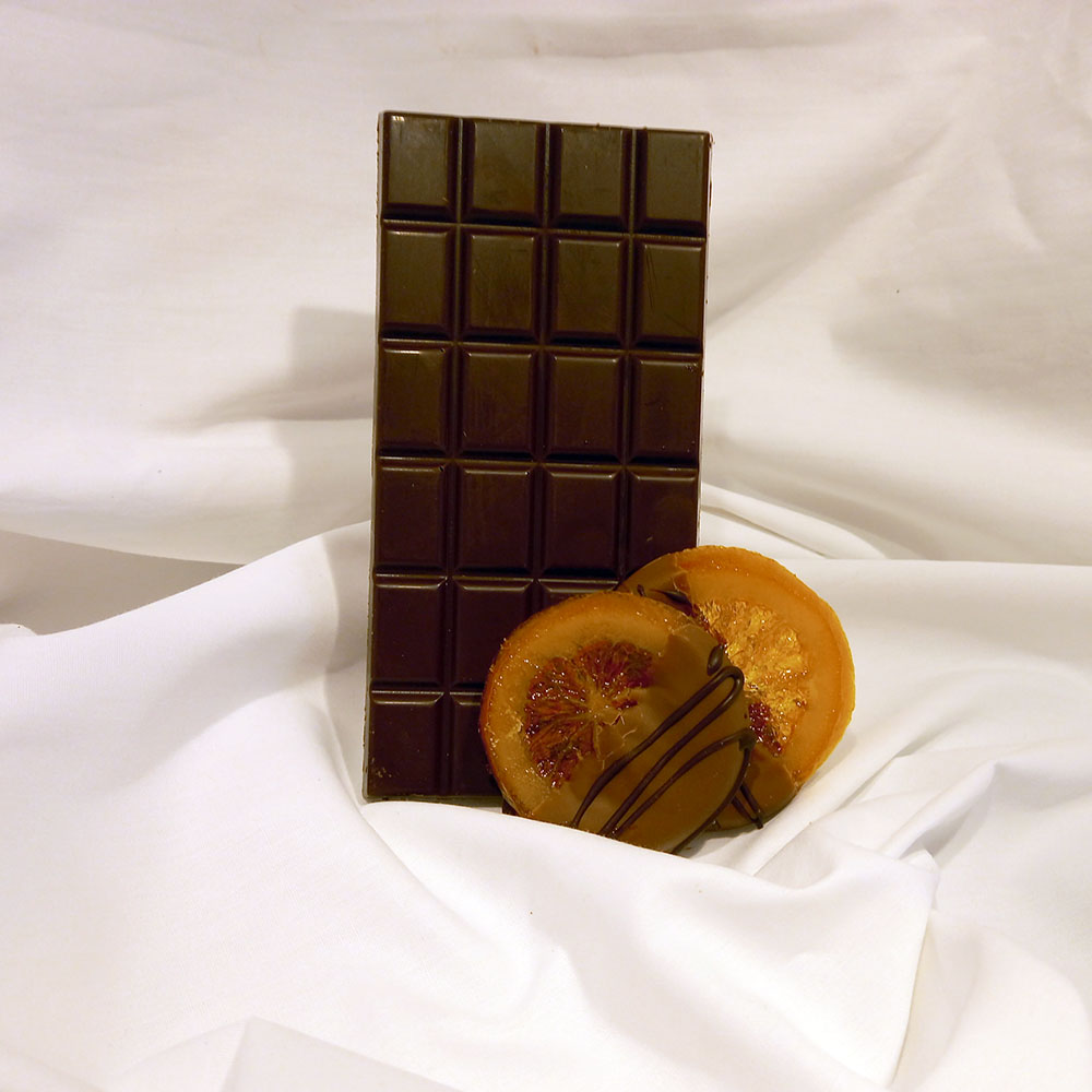 Création LADE Orange – chocolat noir