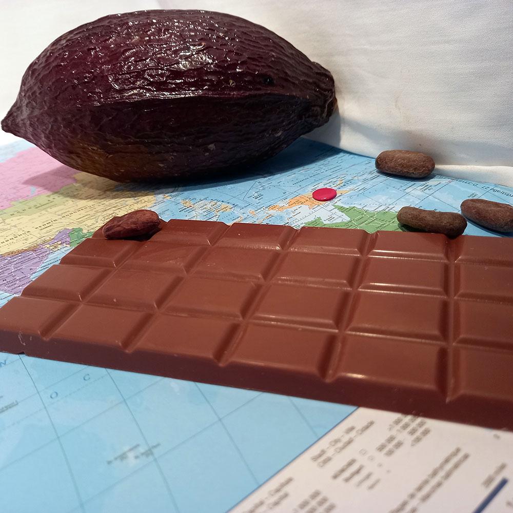 Papouasie 35,8% – chocolat au lait